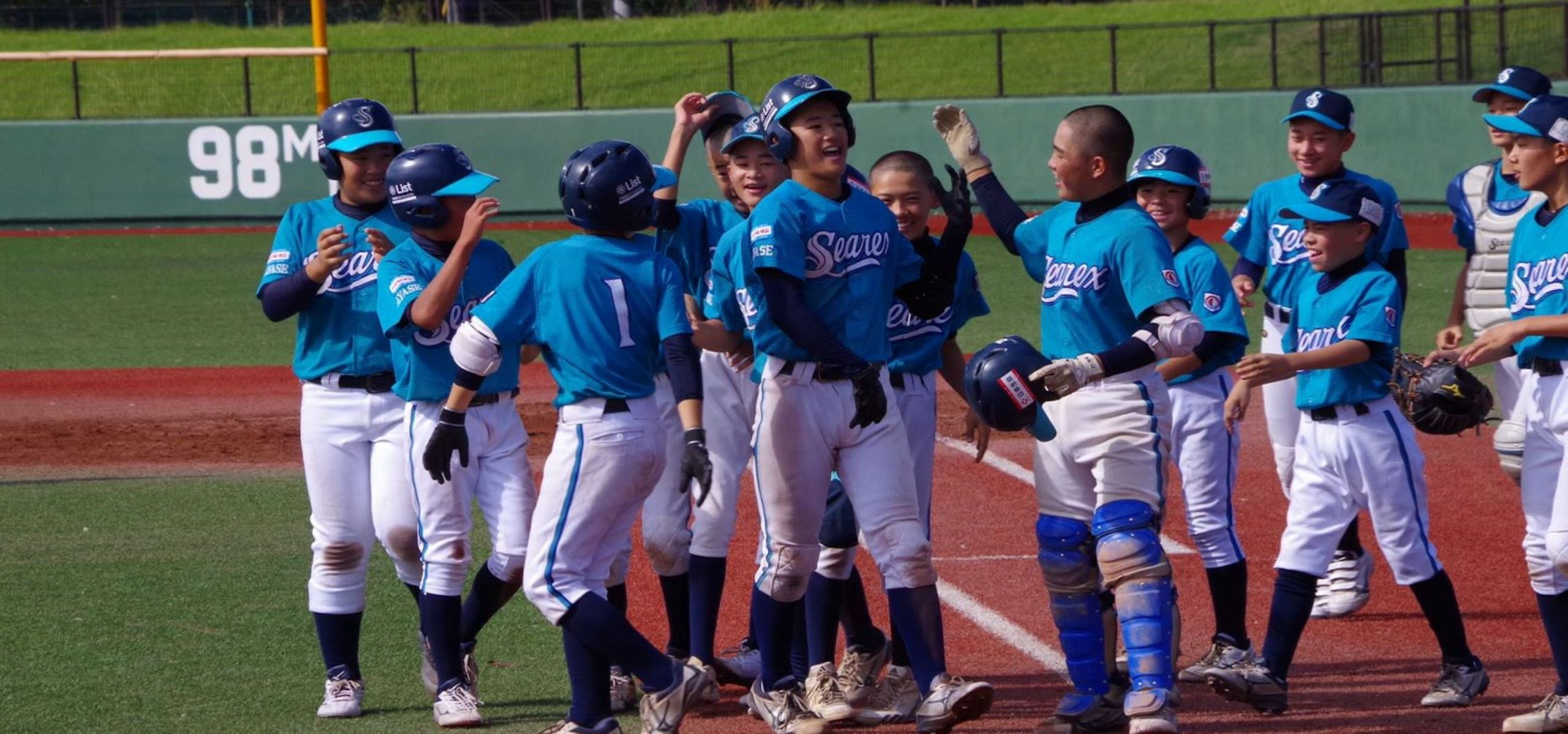 『笑顔100%』Enjoy! Baseball